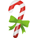 Christmas Candy Cane - icon gratuit #197031