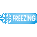 Freezing Button - icon gratuit #197101