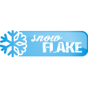 Snowflake Button - icon gratuit #197121