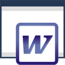 Coller de Word - icon gratuit #197181