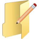 Folder Edit - icon gratuit #197641