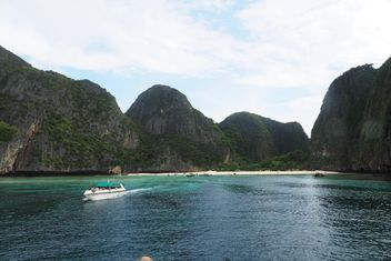 Maya bay Krabi Thailand location - бесплатный image #197951