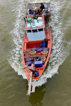 Fishing boat in Thailand - image #198241 gratis
