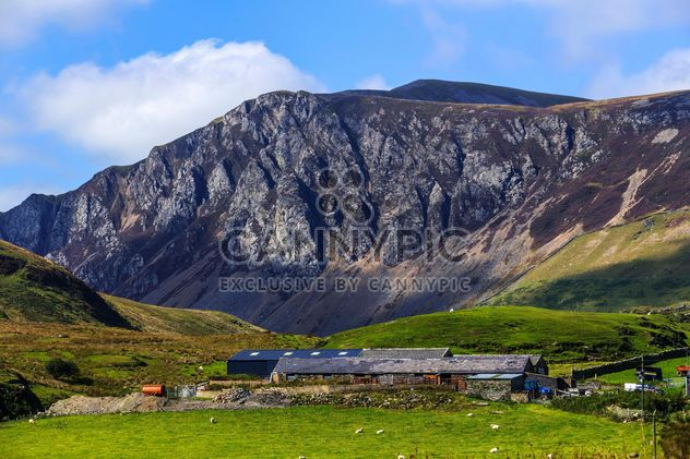 Snowdonia National Park and mount Snowdon, Wales - Free image #198281