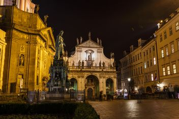 prague at night - Kostenloses image #198621