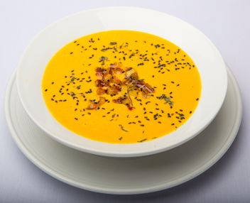 Soup of pumpkin - Free image #198721