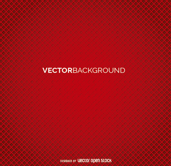 Red mosaic abstract background - vector gratuit #199651