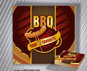 Barbecue Logo BBQ - бесплатный vector #199751