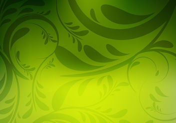 Floral green colorful background - vector #199961 gratis