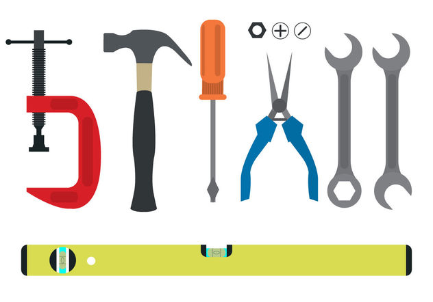Tool Collection - Free vector #200091