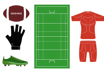 Rugby Icons - Free vector #200251