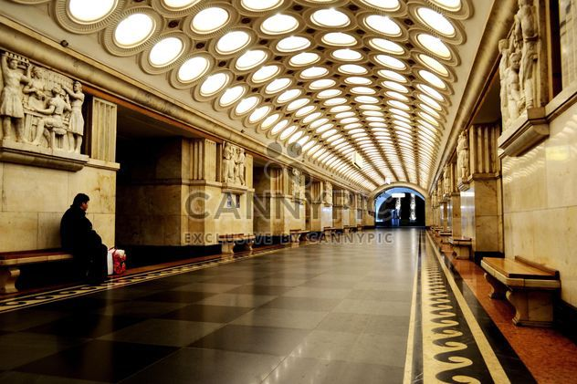 Architecture of Moscow metro - Free image #200721