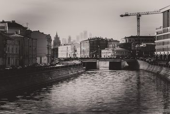 Architecture and river of Moscow - Kostenloses image #200751