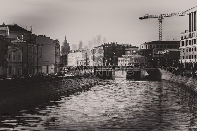 Architecture and river of Moscow - Free image #200751