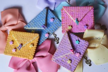 Cookies With A colorful Bows - бесплатный image #201011