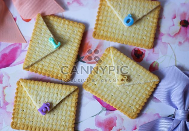 Cookies With A colorful Bows - Free image #201021