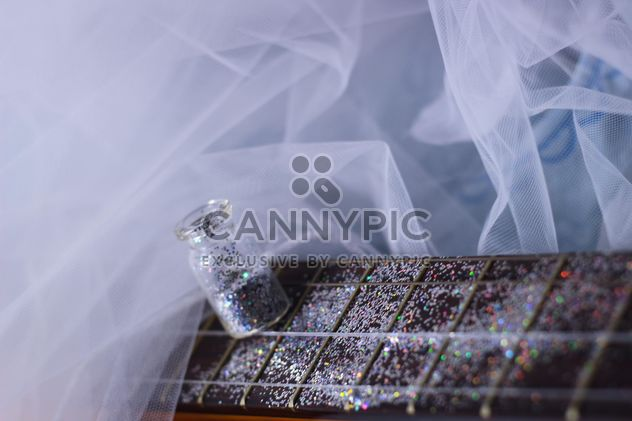 girly guitar in glitter - бесплатный image #201041
