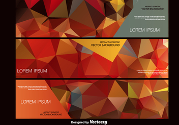 Abstract Polygonal Vector Background - vector gratuit #201201