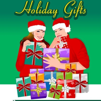 Free Vector Christmas Gifts - Free vector #202591