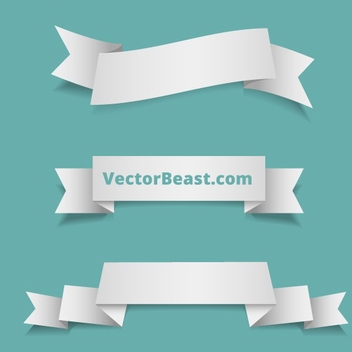 Vector Ribbons By VectorBeast - Kostenloses vector #202721