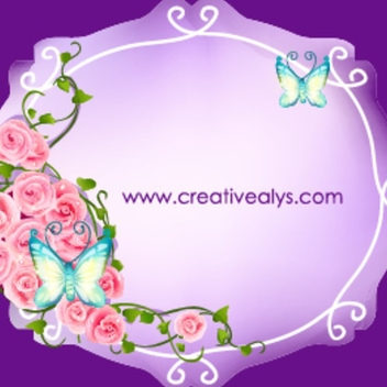 Beautiful Flower Frame Vector - Free vector #202801
