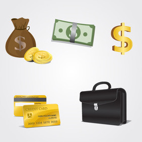 Finance Icons - vector #202811 gratis