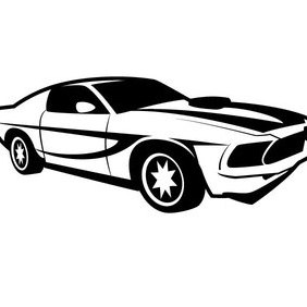 Racing Car Vector Image - Free vector #202891