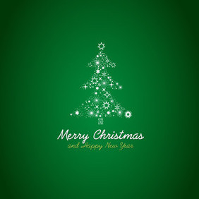 Free Christmas Tree Vector - бесплатный vector #202971
