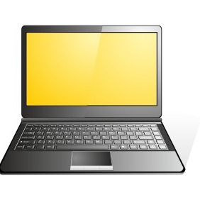 Laptop Icon - vector gratuit #203151