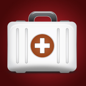 First Aid Kit Vector Icon - Free vector #203641