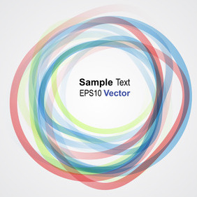 Colorful Vector Rings - vector gratuit #203681