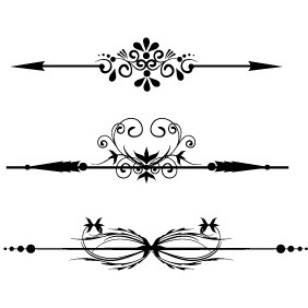 Borders 1 - vector #203721 gratis