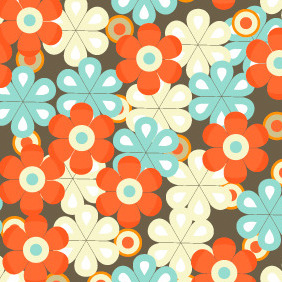 Seamless Pattern 204 - Free vector #203921