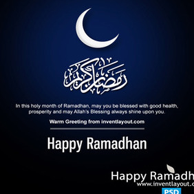 Happy Ramadhan - бесплатный vector #204121