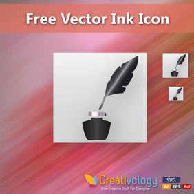 Free Vector Ink Icon (Apps Icon) - Kostenloses vector #204211