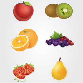 Fruits Vector - vector gratuit #204611