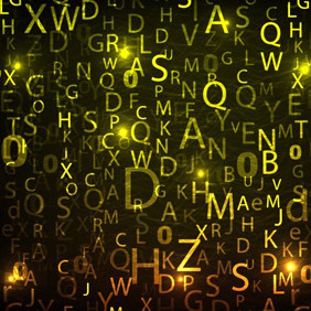 Letters Background - vector #204771 gratis