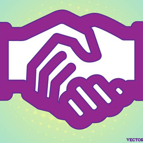 Shaking Hands - vector gratuit #204801
