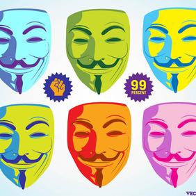 Anonymous Mask Graphics - Kostenloses vector #204811