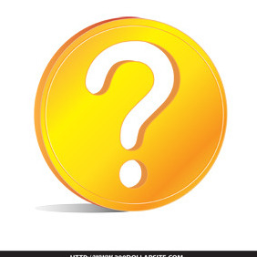 Golden Question Free Vector - Free vector #204861