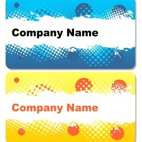 Grungy Card Templates - Free vector #204921