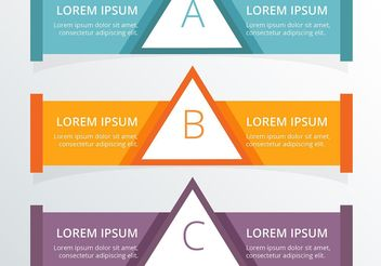 Infographic Banners Vector Set - бесплатный vector #205091