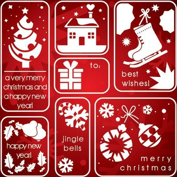 Christmas Elements - vector gratuit #205241