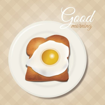 Good Morning - vector gratuit #205501