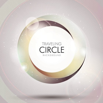 Traveling Circle - vector gratuit #205871