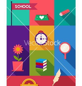Free back to school vector - vector gratuit #206041