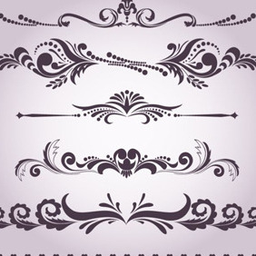 Decorative Design Graphics - vector gratuit #206061