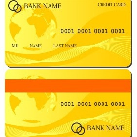 Credit Card Illustration - vector gratuit #206131