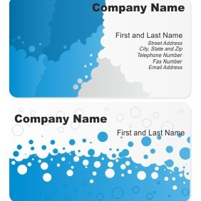 Stylish Business Card - Free vector #206371