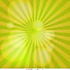 Free Sunburst Vector Background - Kostenloses vector #206391
